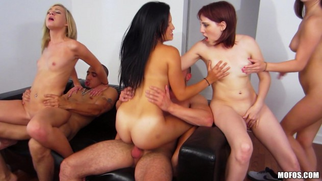 Nickey Huntsman, Calenita, Kylie Kane, Chloe Brooke   Real Slut Party